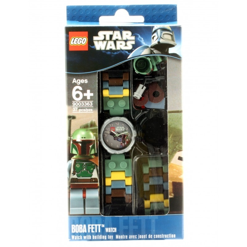 montre lego star wars boba fett. Black Bedroom Furniture Sets. Home Design Ideas