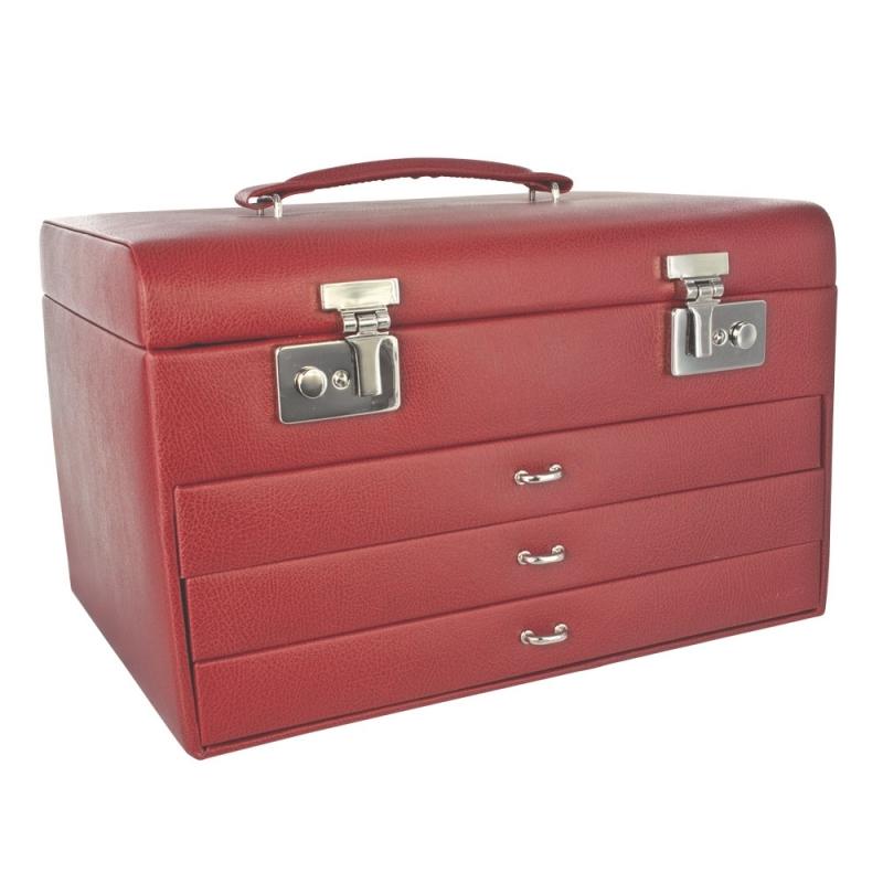 coffre bijoux rouge davidt 39 s. Black Bedroom Furniture Sets. Home Design Ideas