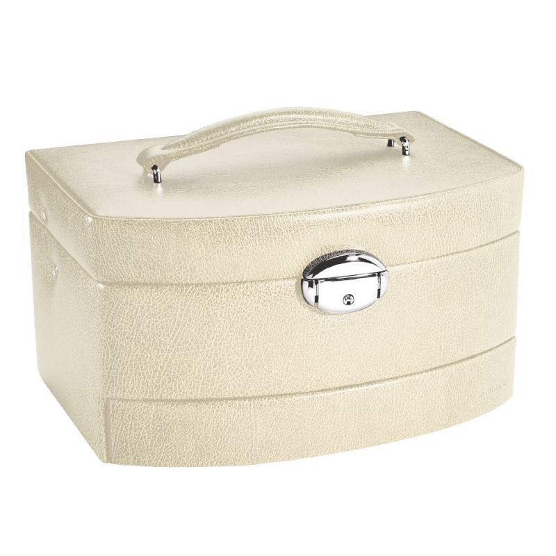 coffre bijoux beige davidt 39 s. Black Bedroom Furniture Sets. Home Design Ideas