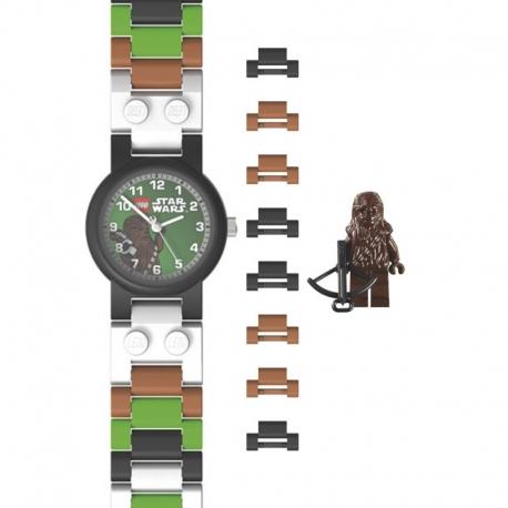 montre lego star wars chewbacca et sa figurine. Black Bedroom Furniture Sets. Home Design Ideas