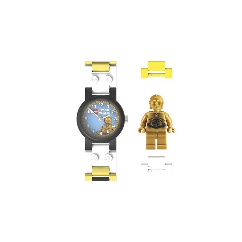 montre lego star wars c 3po avec figurine. Black Bedroom Furniture Sets. Home Design Ideas