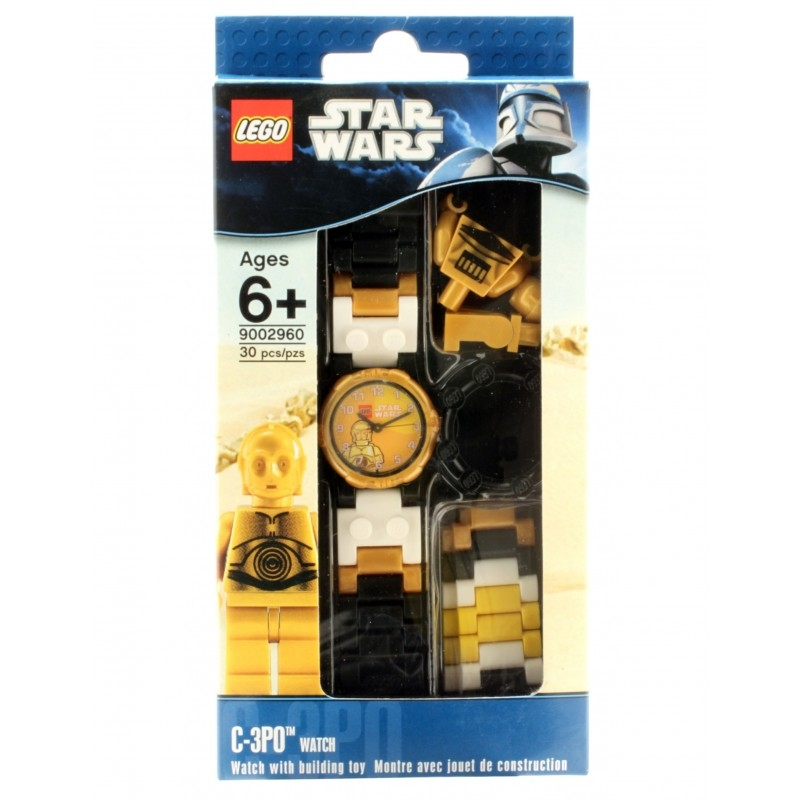 watch lego stars wars c 3po lego. Black Bedroom Furniture Sets. Home Design Ideas