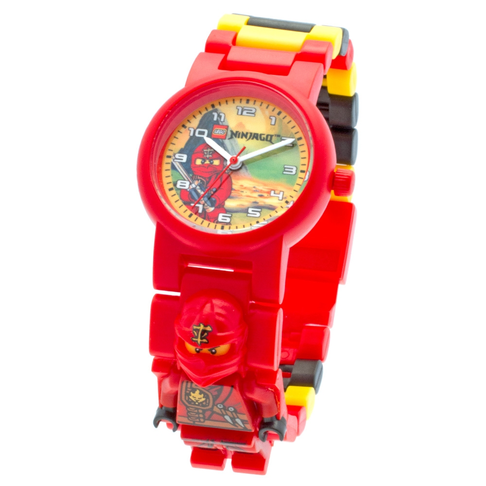 montre lego ninjago jungle ninja ka - Ninjago Rouge