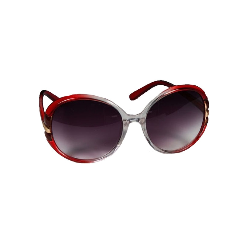 lunettes de soleil rouge d grad. Black Bedroom Furniture Sets. Home Design Ideas