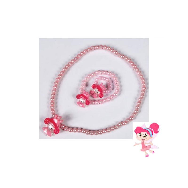collier avec bracelet et bague lastiques princesse. Black Bedroom Furniture Sets. Home Design Ideas