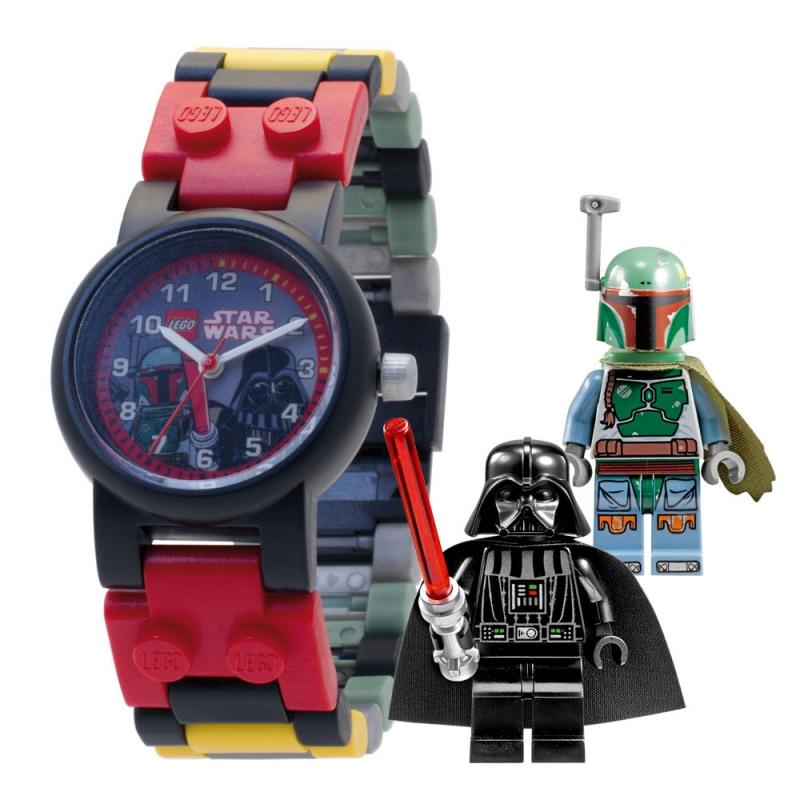 Montre lego star wars dark vador et boba fett avec figurines - Lego star wars avec dark vador ...